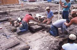 1987 excavation at the Palm Street block