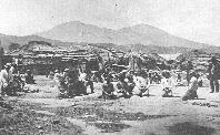 1870 photo of the village of Elem
