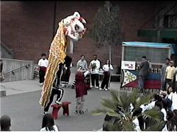 Cal Poly Asian Students Lion Dance Team 4-24-99